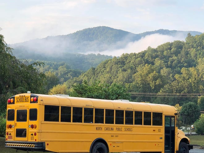"""""""The challenges are staggering at times,"""" Toby Burrell, said Swain County Schools public information officer."""