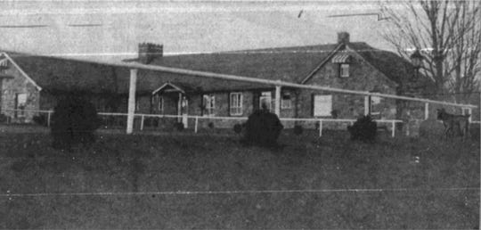 The Barbara home in Apalachin in 1957.