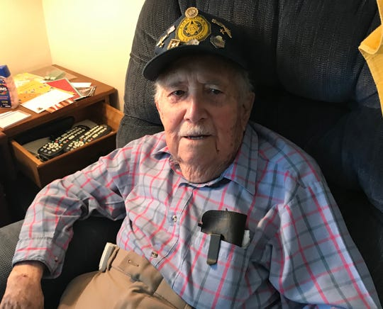 Army Air Corps veteran Bill Edwards of West Melbourne will celebrate his 100th birthday on, appropriately, Veterans Day.