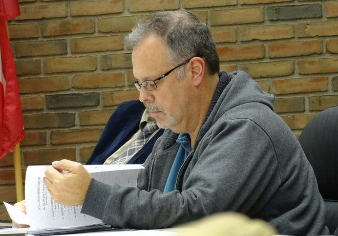 Mark Makeever was elected to his third term on Bucyrus City Council in November 2019.