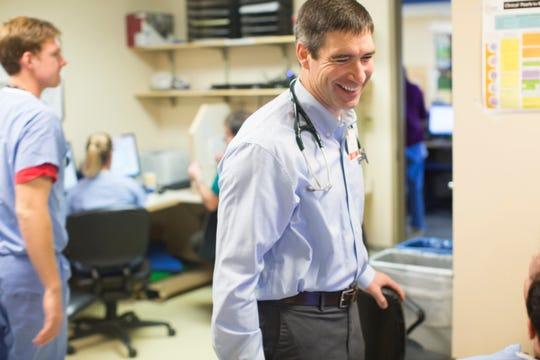 UVM Medical Center Interim President Stephen Leffler, MD.