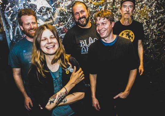 Country-rockers Sarah Shook & the Disarmers play Nov. 16 at Club Metronome in Burlington.