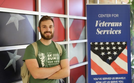 Joshua Pilcher says Miami University Regionals' on-campus veteran services helped him utilize the GI Bill to the fullest.