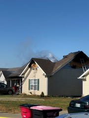 The aftermath of an Oakmont Drive house fire on Nov. 8, 2019.
