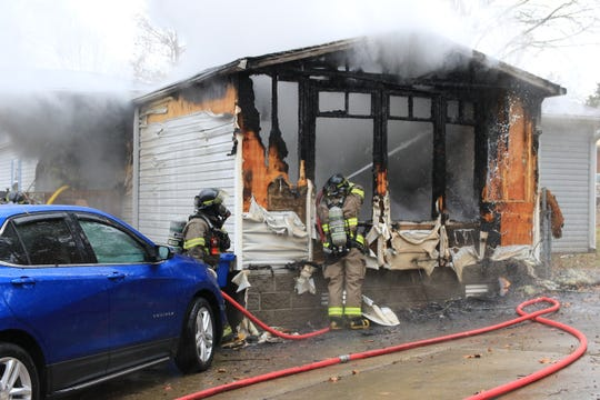 The house at 715 Eva Drive was destroyed in a fire on Thursday, Nov. 7, 2019.