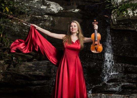 Violinist Lara St. John is featured with jazz/classical pianist Matt Herskowitz  in concert at St. Paul's Episcopal Church, Westfield, on Sunday, Nov. 17, at 5 p.m.