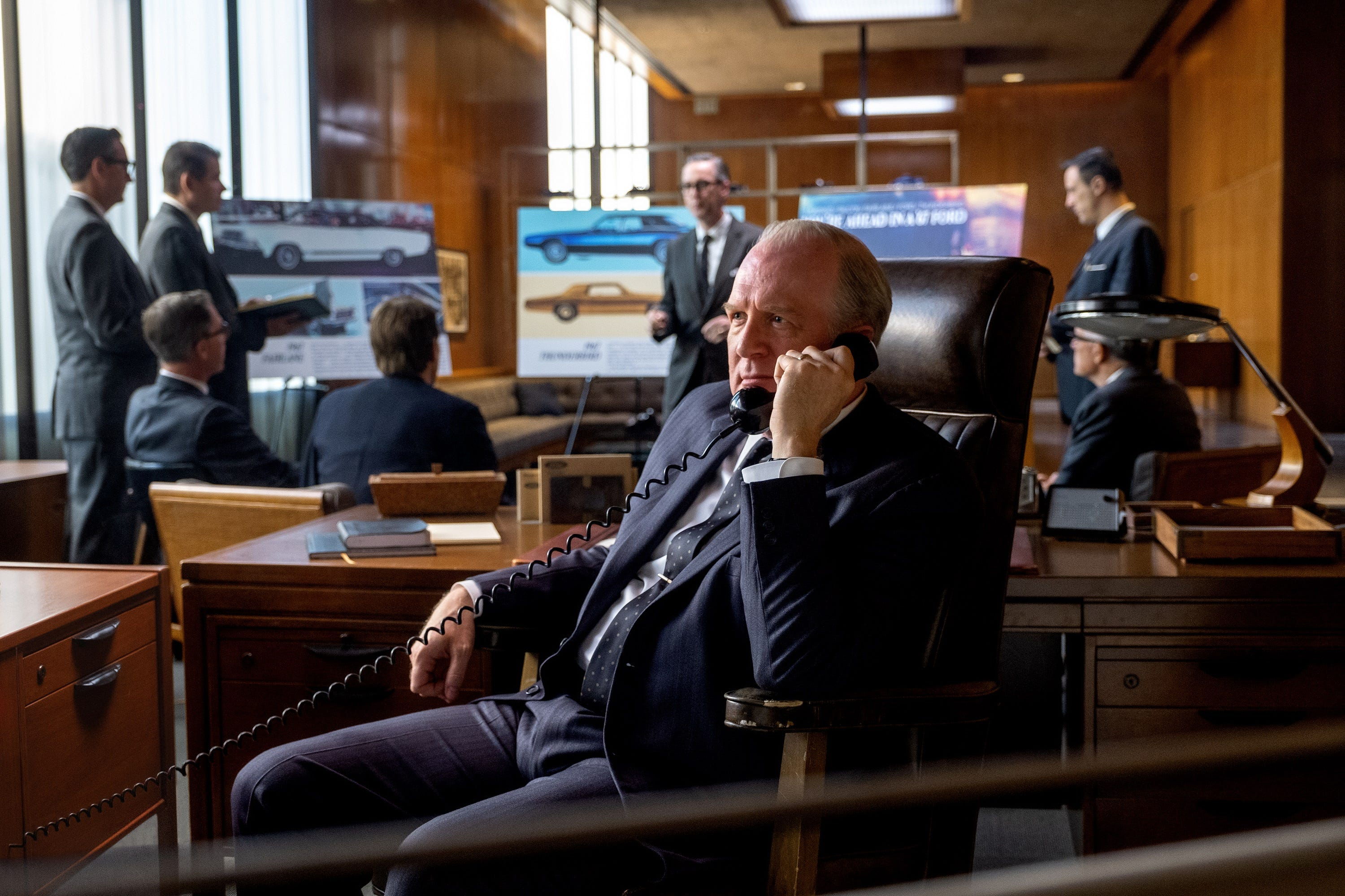 In Ford V Ferrari Tracy Letts Plays Henry Ford Ii As Imposing Ceo