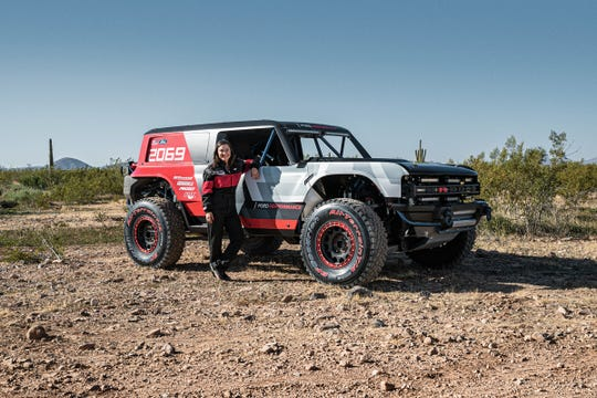 Shelby Hall, Rod's granddaughter, will drive the Bronco R in the 2019 Baja 1000 Nov. 19 through Nov. 24.