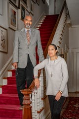 "Detroit Institute of Arts emeritus board member Walter O. Evans and his wife Linda Evans contributed art from their collection for the exhibit ""Detroit Collects: Selections of African American Art from Private Collections"" at the DIA."