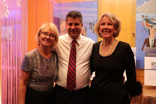From left, from the Full Circle Foundation: Sue Banner, Ted Coutilish and Mary Fodell.