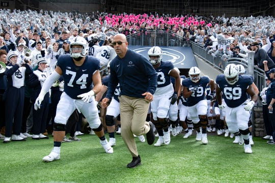 Penn State coach James Franklin and his team will take on Minnesota this weekend.