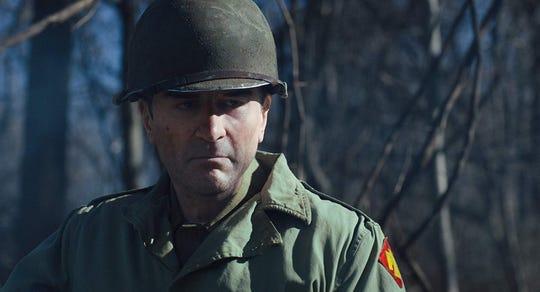 "A de-aged Robert De Niro in ""The Irishman."""