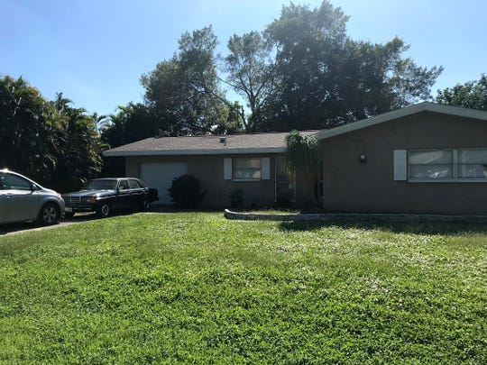 Ryan and Sheila O'Leary's home in the 200 block of SE 45th Street, Cape Coral, where they lived with three children who were suffering from severe malnutrition, causing one child's death.