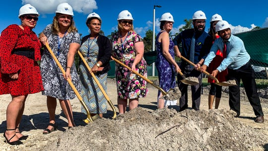 Greek Athenian Charter School is set to break ground off Three Oaks Parkway, Fort Myers.  A groundbreaking ceremony was held Thursday, November 8, 2019.