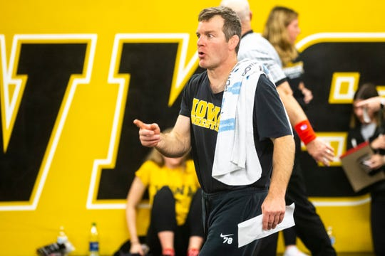 Tom Brands' next two months will be vital to how his 14th season is viewed. He's got the Hawkeyes well-positioned for a run toward their first NCAA title since 2010, but there's plenty of work ahead.
