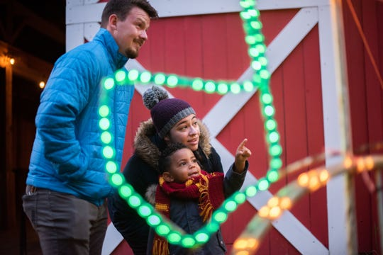 The Reynolds Lights are moving to Conner Prairie in 2019 as part of the A Merry Prairie Holiday display.