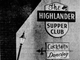 From 1970: The Highlander Supper Club featured cocktails and dancing on its sign.