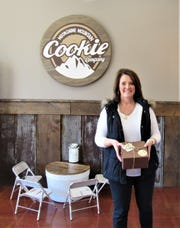 """Kim Jackson is a regular in the store, saying, """"There is just something about these cookies that I love. This is a gift, but I buy them for myself too."""""""
