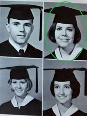 Many of the Lafayette High class of 1967 have reconnected through Facebook and in-person reunions as often as possible, sharing photos and memories. Some members featured in the story have been highlighted in photos of the yearbook, including Sarah Lasserre, now Sarah DeClouet.
