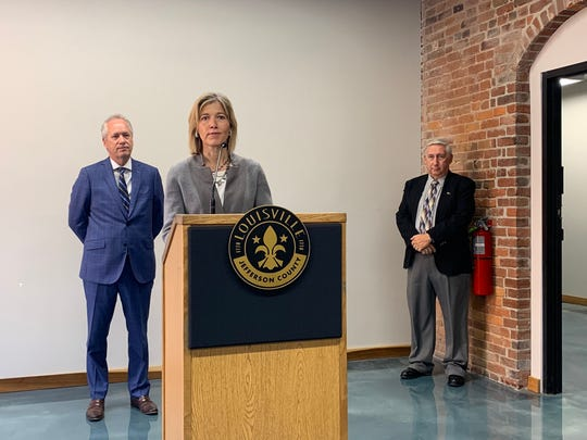 Amy Hess, who comes from the FBI, will serve as Louisville Metro's chief of public services.