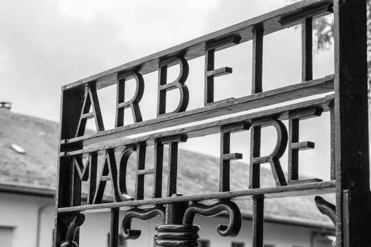 Third Reich propaganda, Dachau Camp near Munich, Germany, circa 1935