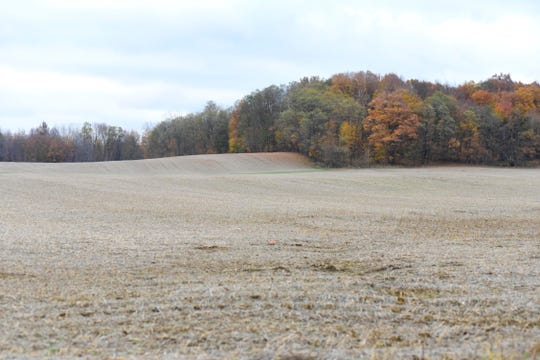 Most fields across North Central Ohio were harvested by the first week of November.
