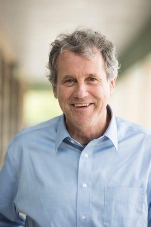 "U.S. Sen. Sherrod Brown (D-Ohio) has written his third book, ""Desk 88."""