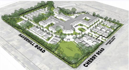 The Reserve at Oaks Edge is a senior living community planned by Union Row developers.