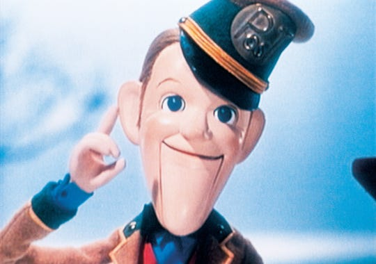 "Fred Astaire voices the postman/narrator in the animated classic ""Santa Claus Is Comin' to Town."""