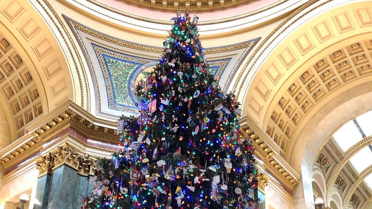 Tony Evers seeks science-related ornaments for the Capitol's renamed 'Holiday Tree'