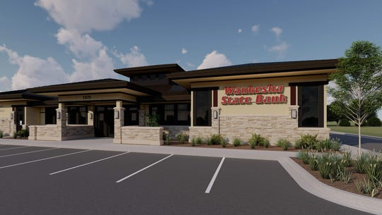 Waukesha State Bank plans to open a full-service Menomonee Falls office in summer of 2020.