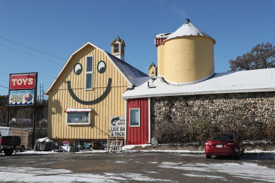 The Smiley Barn, at I-94 and Hwy 83 in Delafield, has a new showroom of Playmobil toys.