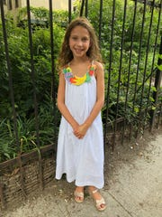 Ruby Kessler is a second grader at Hillcrest Elementary School in Morris Township.