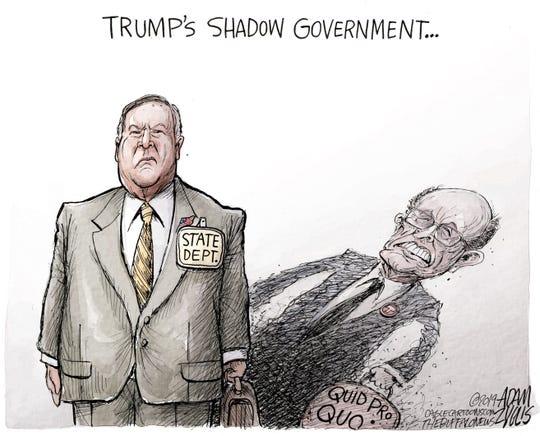 Giuliani in shadow role.