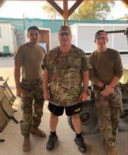 Dr. Robert Madlinger with medics in Jalalabad Afghanistan