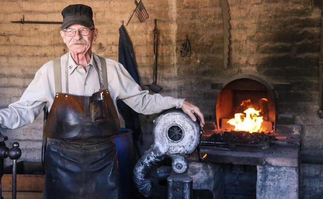 Longtime, beloved blacksmith, Billy Provence, 72, passed away Sunday, Nov. 3, 2019.
