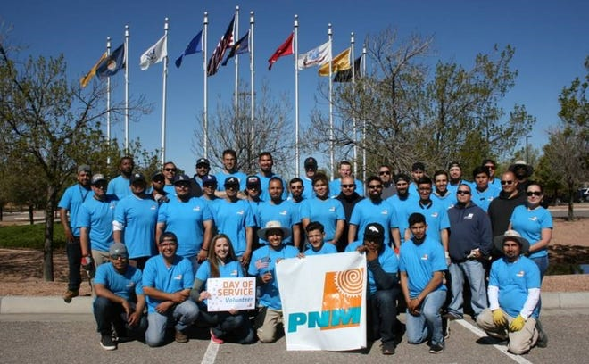 PNM crews helped veterans lower their bills by using less electricity