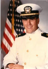Dr. Matthew Griffin while he was serving in the United States Navy in the 1990s.