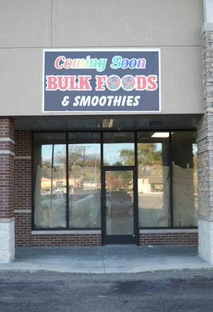 A Bulk Foods and Smoothies store will soon open at 19049 Middlebelt Road in Livonia.