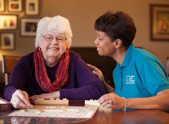 Right at Home offers in-home care and assistance services, ranging from skilled nursing to health reminders, hygiene and companionship.
