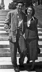 Oskar Knoblauch went to Canada after the war and met his wife, Lila, an American, at Niagra Falls. They married in 1951 and had three children. When their oldest was accepted to Arizona State University in 1970, the family moved here.