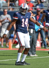 Arizona Wildcats quarterback Khalil Tate has had his struggles this season.