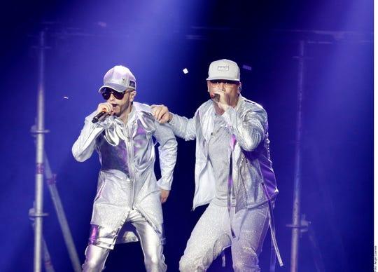 Wisin & Yandel fueron recibidos con gran éxito en Monterrey.