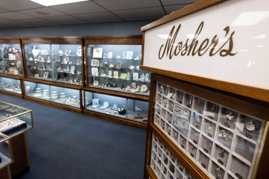 Mosher's Jewelers in downtown Port Huron is closing. The jewelry shop opened in Port Huron in 1906 by Clarence Mosher.