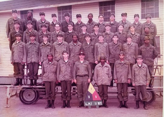 Howard Pickens served in the U.S. Army from 1972 to 1975.