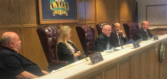 Four of five Lyon County commissioner seats are up for grabs this year.