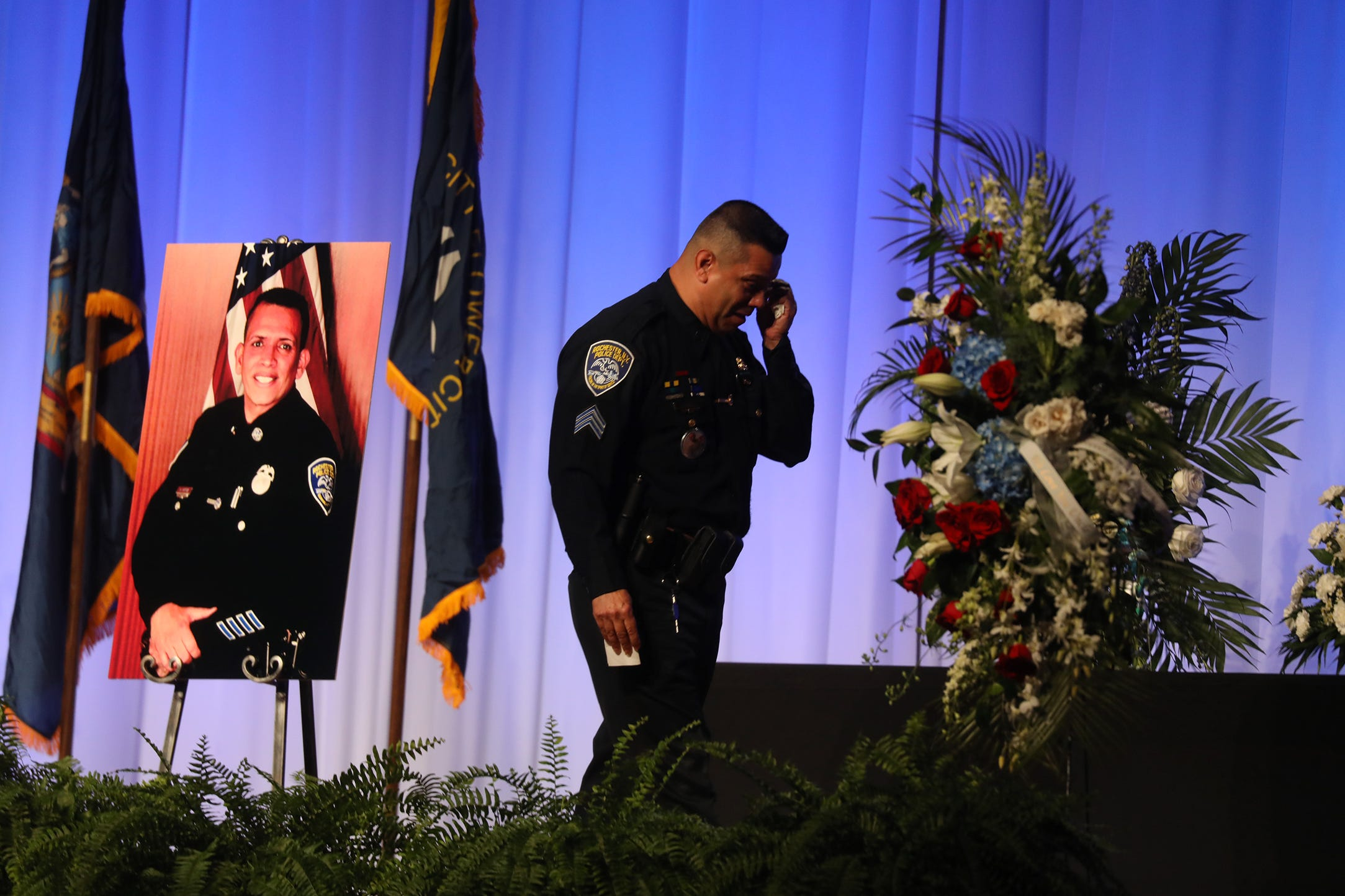 Manny Ortiz remembered as 'a cop's cop' and 'a presence that was larger than life'