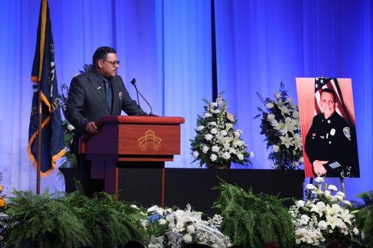 Ray Mayoliz talks about Officer Manny Ortiz