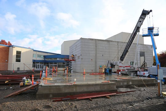 McNary High School is undergoing a $55.9 million bond construction project.