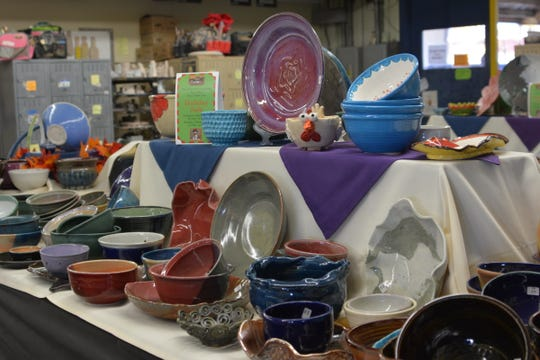 Willamette Art Center is hosting its 13th annual Empty Bowls fundraiser for the Marion-Polk Food Share Nov. 16 and 17.